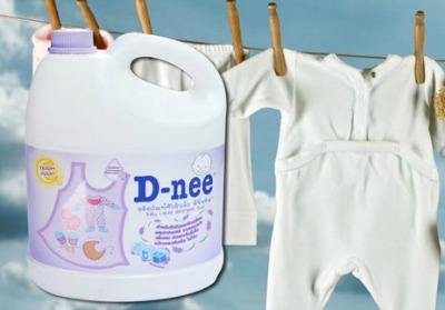 nước giặt nước xả vải Dnee
