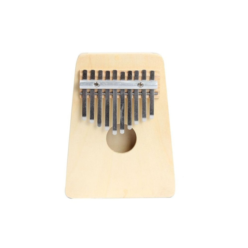 10 Keys Finger Thumb Music Piano Kalimba Mbira Education Toy Musical Instrument - intl