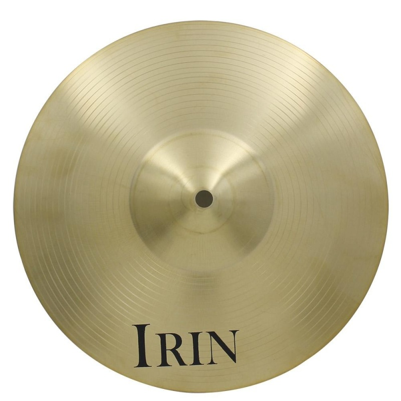"14"" Brass Alloy Crash Ride Hi-Hat Cymbal for Drum Set - intl"