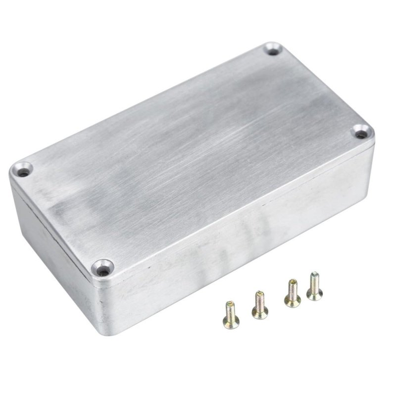 1590B Style Effects Pedal Aluminum Stomp Box Enclosure for Guitar - intl