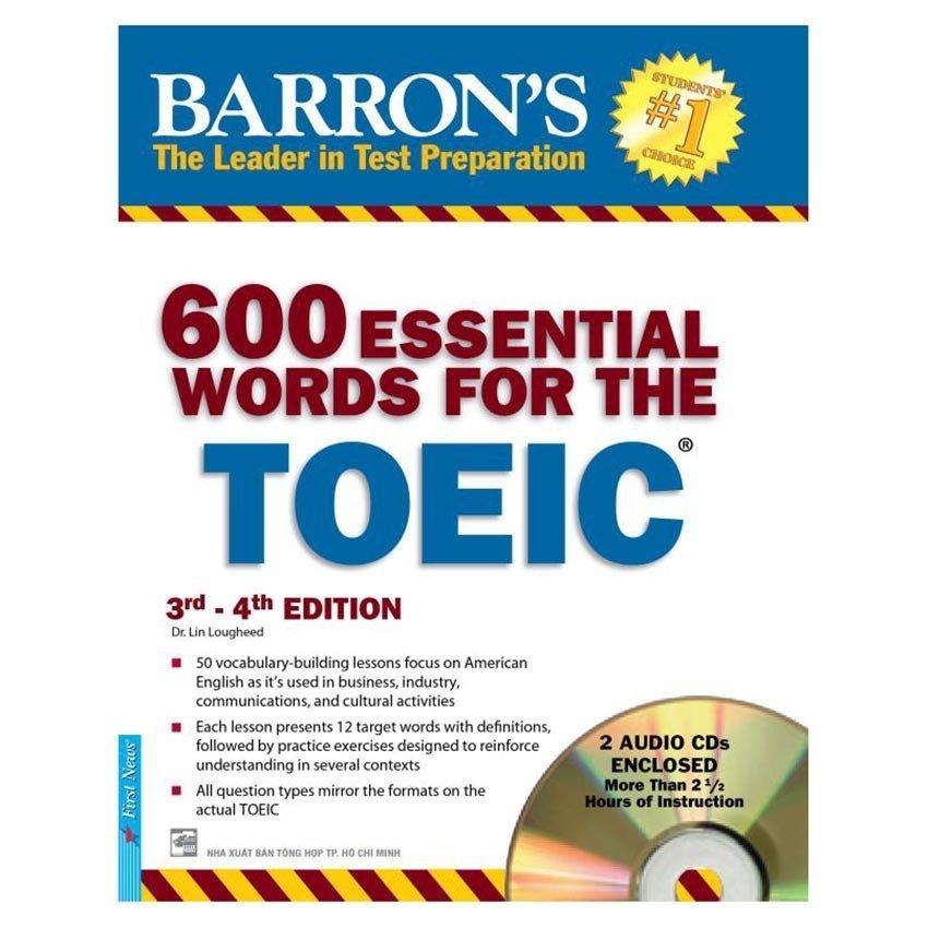 600 Essential Words Toeic 3rd - 4th