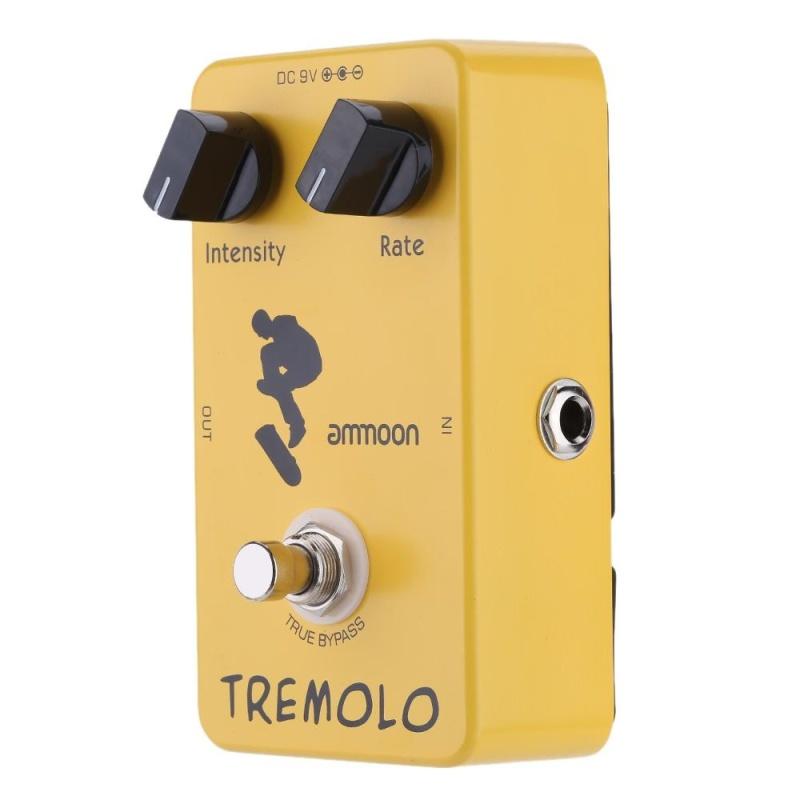 ammoon AP-04 Tremolo Guitar Effect Pedal True Bypass - intl
