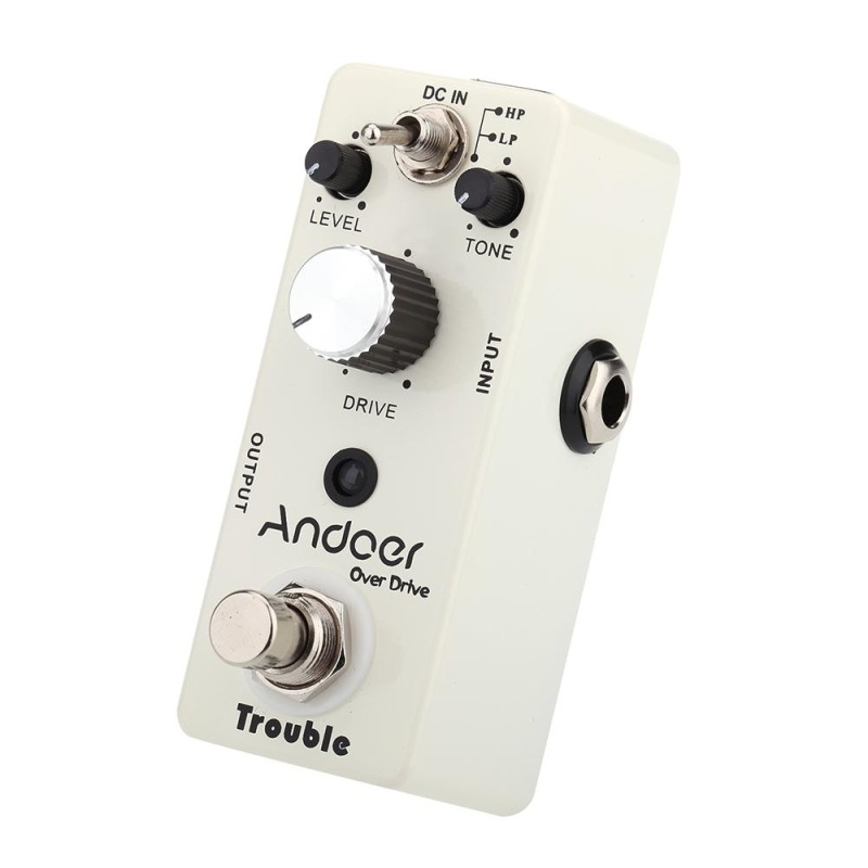 Andoer TC-16 Overdrive Guitar Effect Pedal True Bypass - intl