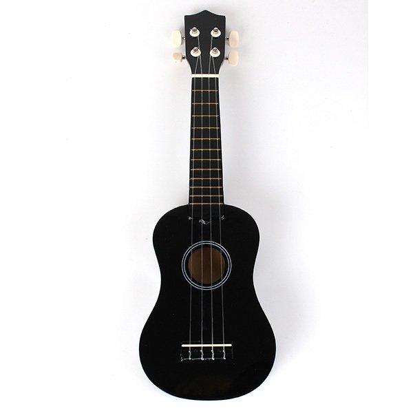 Beginners Ukulele Uke Mahalo Style Ukelele Soprano Ukulele Musical Instrument Black - Intl