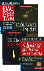 Bộ 4 Cuốn Đắc Nhân Tâm - Tái Bản 2016 - Nhiều dịch giả,Nhiều tác giả