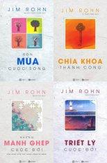 Bộ 4 cuốn Jim Rohn: Triết lý cuộc đời, Những mảnh ghép cuộc đời, Chìa khóa thành công, Bốn mùa cuộc sống-Châm ngôn ngày mới