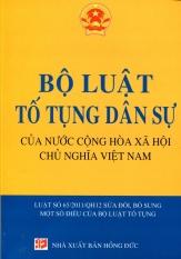 Bộ Luật Tố Tụng Dân Sự Của Nước Cộng Hòa Xã Hội Chủ Nghĩa Việt Nam - Quốc Huy (Hệ thống hóa)
