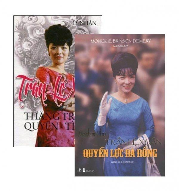 Bộ Madam Nhu Trần Lệ Xuân - Quyền Lực Bà Rồng (Bộ 2 Cuốn) - Lý Nhân,Mai Sơn,Monique Brinson Demery