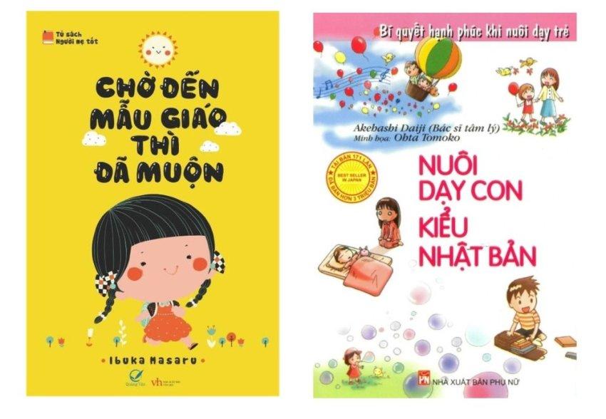 Bộ sách Chờ đến mẫu giáo thì đã muộn - Ibuka Masaru và Nuôi dạy con kiểu Nhật Bản - Akehashi Daiji (2 Cuốn)