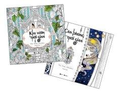 Bộ sách tô màu dành cho người lớn Căn Phòng Thời Gian và Khu Vườn Thời Gian - Song Ji-Hye