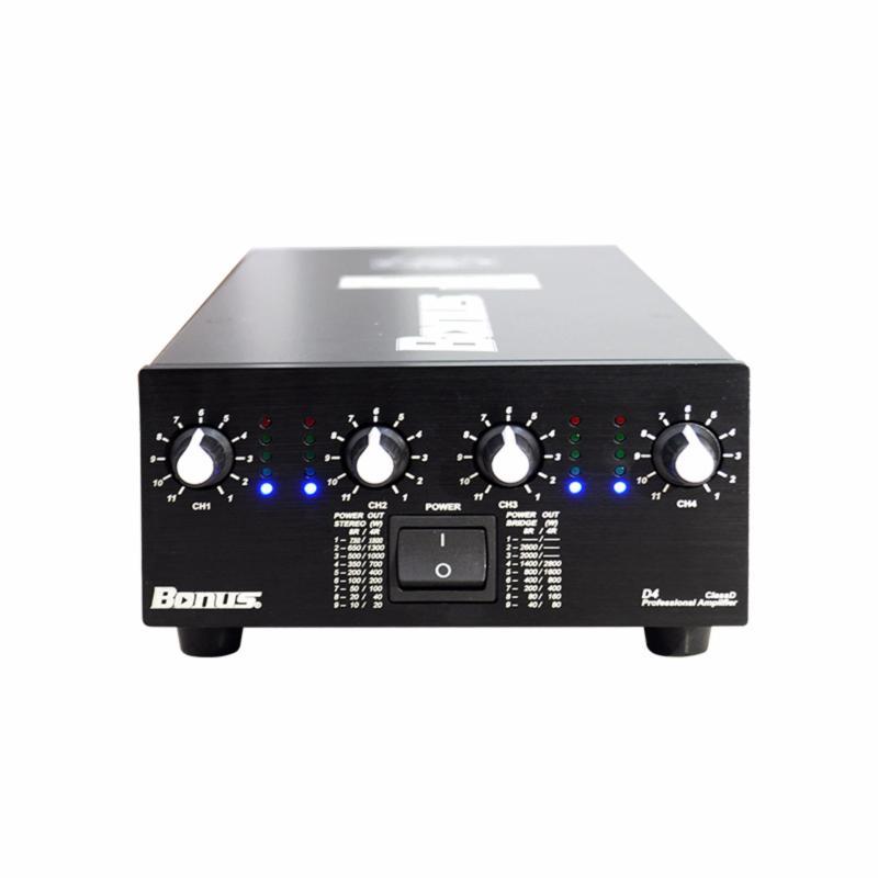 Cục đẩy power amplifier Bonus Audio D4