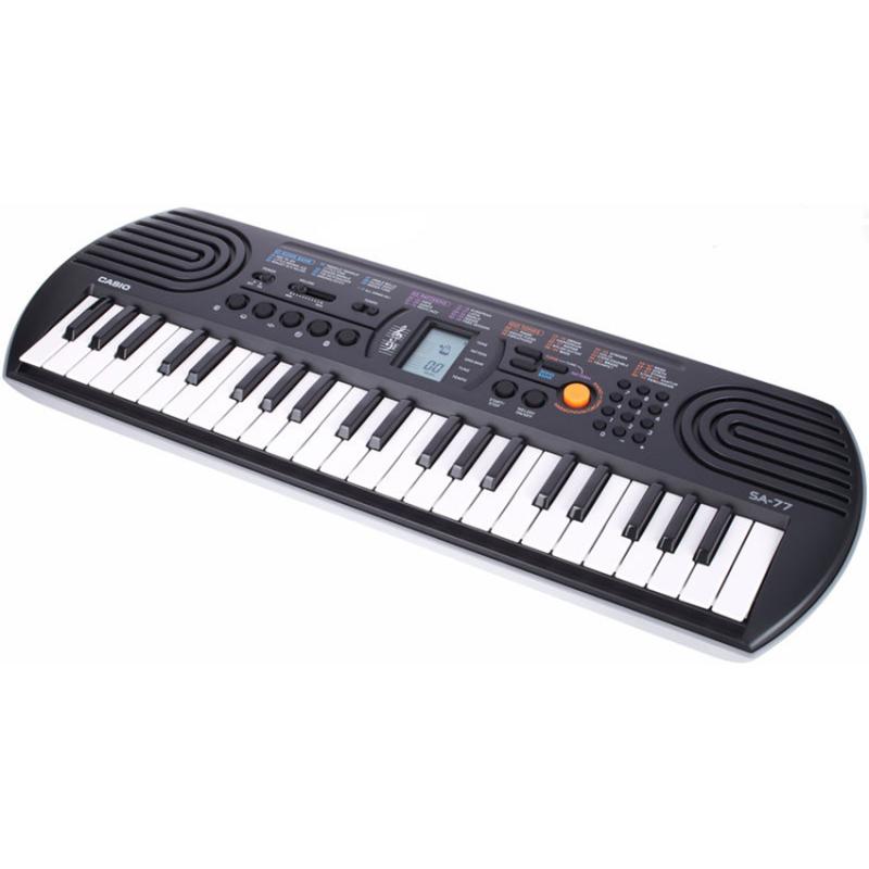 Đàn Organ CASIO SA-77 (Bạc)