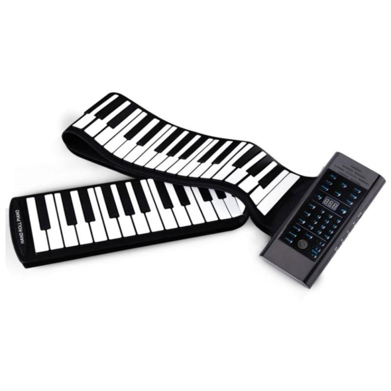 Đàn Piano 88 phím cuộn mềm dẻo Konix Flexible PB88 - Pin sạc 1000mAh TI456 tặng tặng khăn lau đa năng tiện dụng K 275