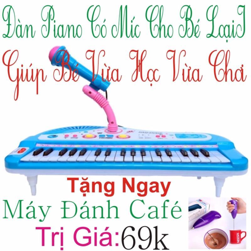 Đàn Piano Mini Có Míc Cho Bé Chất Lượng Âm Thanh Hay Loại Mới + Tặng Ngay Máy Đánh cafe Trị Giá 69k
