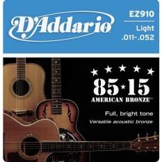 Dây đàn guitar acoustic D'addario EZ910
