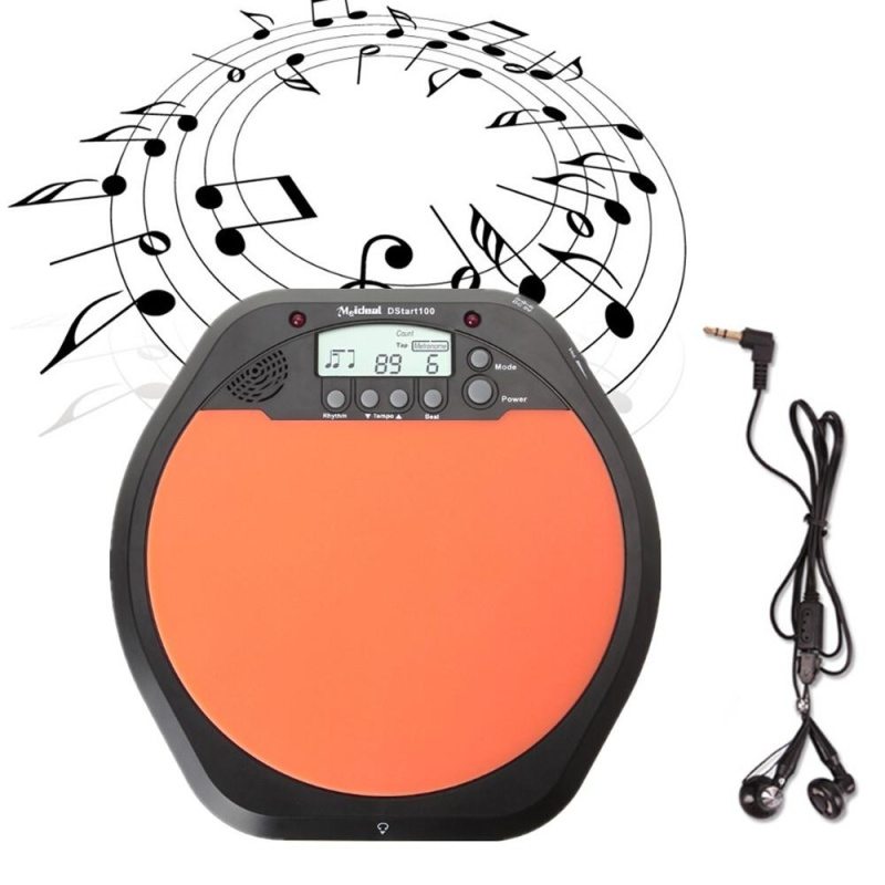 Digital Electronic Drum Pad for Training Practice Metronome - intl
