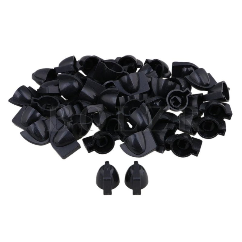 Effect Pedal Chicken Head Knobs Set of 100 Black - intl