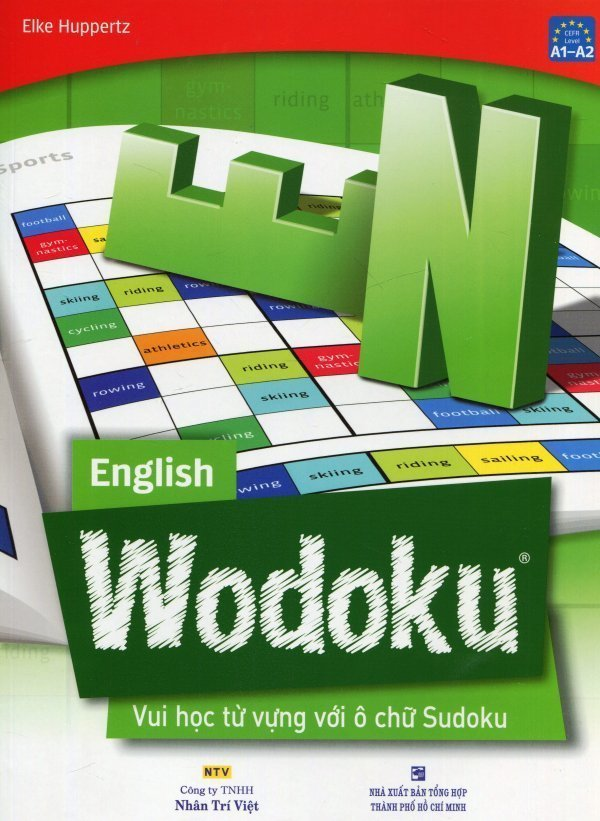 English Wodoku - Vui Học Từ Vựng Với Ô Chữ Sudoku - Elke Huppertz