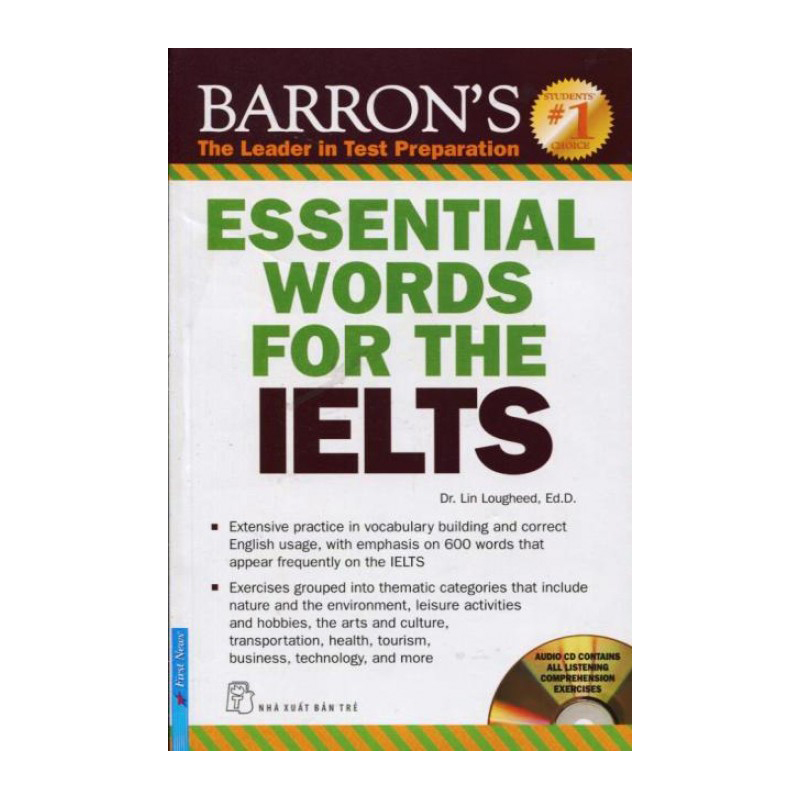 Essential Words For The IELTS (Kèm CD)
