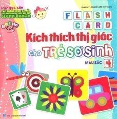 Flash Card Kích Thích Thị Giác Cho Trẻ Sơ Sinh - Tập 4: Màu Sắc - Công Cát và Thành Luân