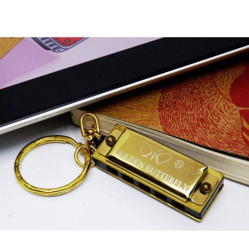 Kèn harmonica mini Golden Butterfly 5 lỗ