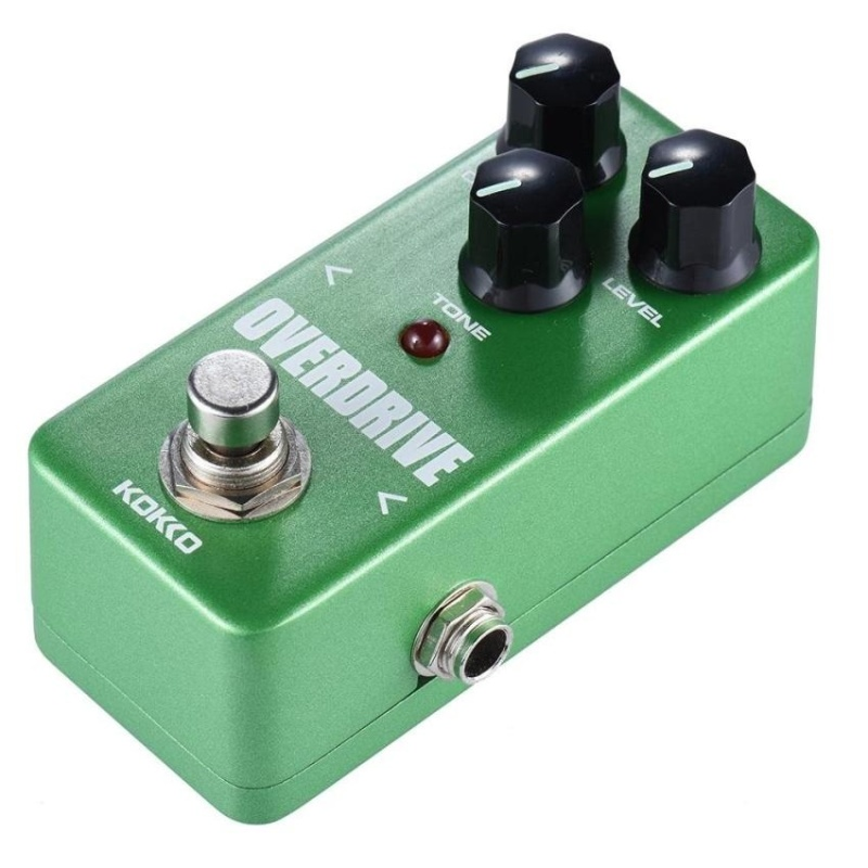 Kokko Fod3 Mini Overdrive Pedal Portable Guitar Effect Pedal Green - intl