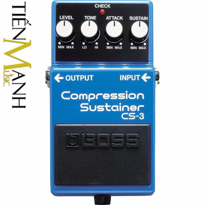 Phơ Guitar Boss Compression Sustainer CS-3 (Bàn đạp Fuzz Pedals Effects)