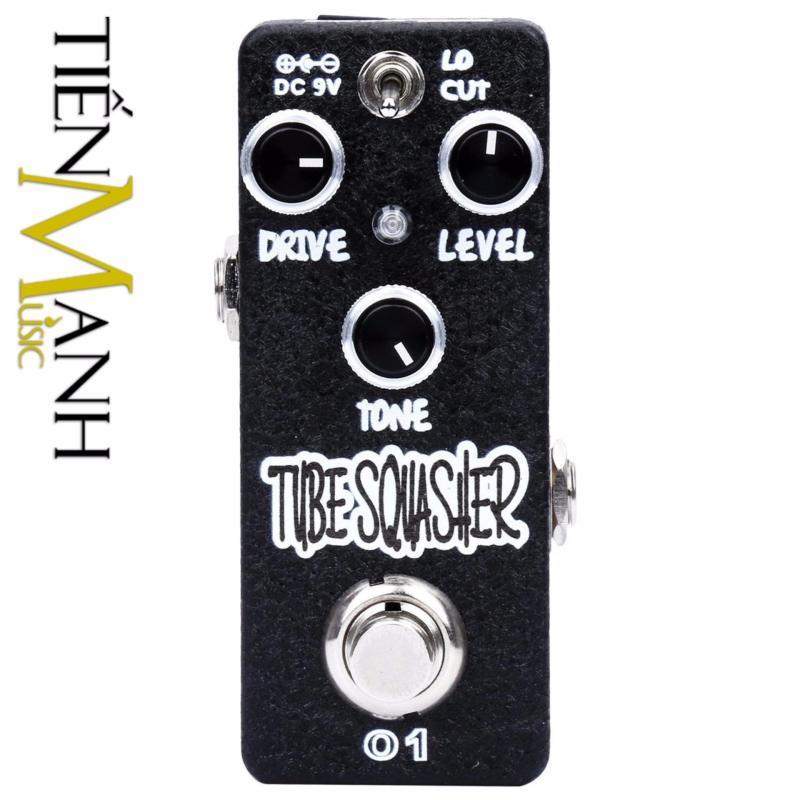 Phơ Guitar Xvive Analog Tube Squasher Overdrive O1 (Có Nguồn xịn đi kèm - Bàn đạp Fuzz Pedals Effects)