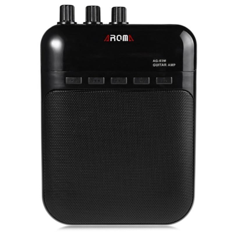 Portable Charging 3W Mini Guitar Amplifier 25Hz~20KHz Frequency Range Guitar Amp - intl