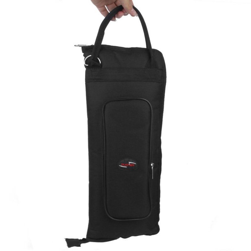 RIS Nylon Padded Drum Stick Drumsticks Bag Case Shoulder Bag Black - intl