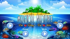 Sách Thực Tế Ảo 3D: Em Rừng - Em Biển - Magical Nature