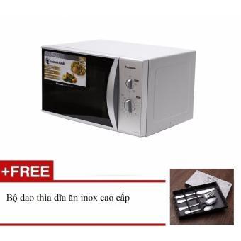 Lò vi sóng Panasonic NN SM332M 25L tặng Bộ dao thìa dĩa ăn inox cao cấp