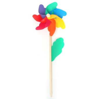 Multi Sizes Colorful Windmill Pinwheel Window Party Festival Decor Kid Toy Gift 18 40 5 47 5cm intl