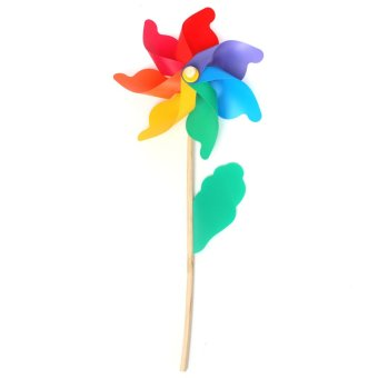 Multi Sizes Colorful Windmill Pinwheel Window Party Festival Decor Kid Toy Gift 32 60 74cm intl