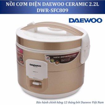 Nồi cơm điện Daewoo DWR SFC809 2 2L