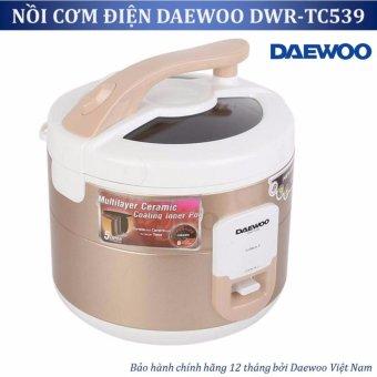 Nồi cơm điện Daewoo DWR TC539 1 8L 700W