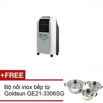 Quạt điều hòa Goldsun EF GHO14 tặng bộ nồi Goldsun inox bếp từ GE21