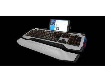 Bàn phím tích hợp LED RGB chơi game thông minh Roccat Skeltr
