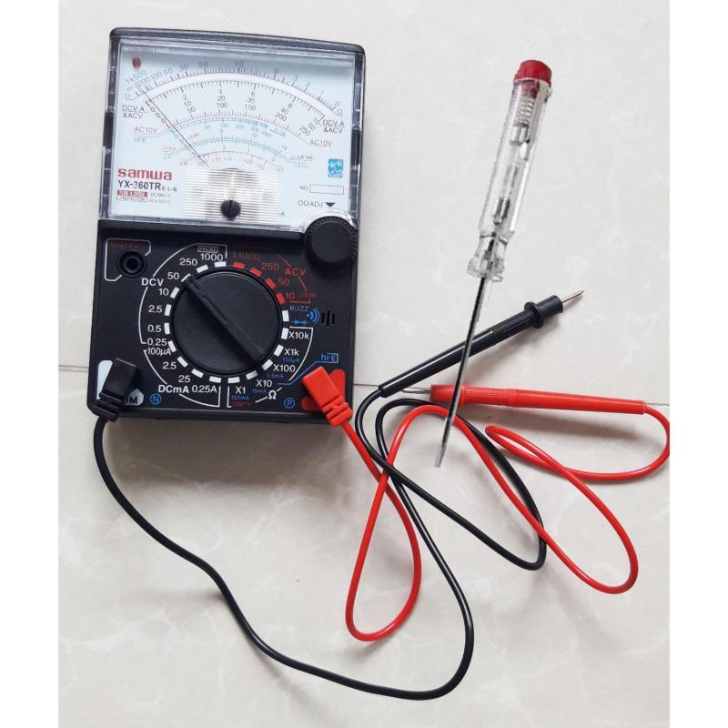 Bộ 1 đồng hồ đo kim VOM 360 và 1 bút thử điện