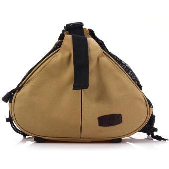 Caden K1 Triangle Crossbody Shoulder Bag for Canon Nikon DSLR Camera - intl
