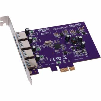 Card PCI Ex to 4 USB 3.0