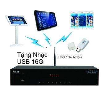 Đầu karaoke Wifi Acnos SK8910KTV-W ( USB 16G)