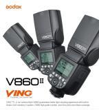 Đèn Flash GODOX V860II GN60 TTL HSS 1/8000s for Canon - Tặng Omno bouce