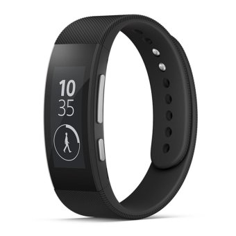 Đồng hồ thông minh smartwatch Sony SWR30 Đen Hàng nhập khẩu