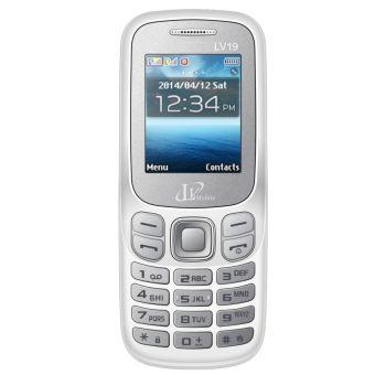 ĐTDĐ LV Mobile 19 2 SIM Trắng