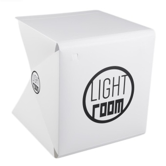 GOOD Portable Mini Photo Studio Box Photography Backdrop Built-In Light Photo Box White - intl