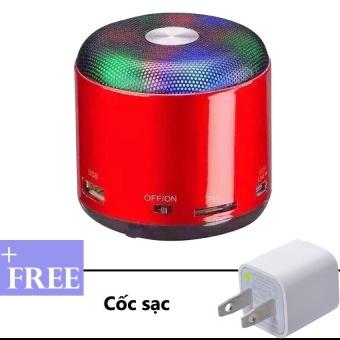 Loa di động Bluetooth WSTER WS Y90B Đỏ Tặng kèm cốc sạc