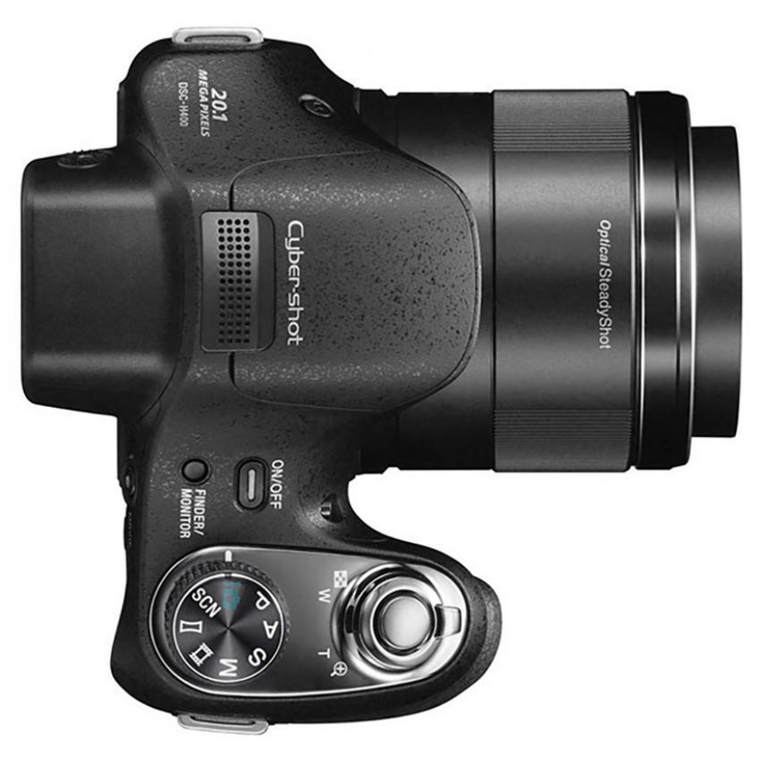 Máy ảnh KTS Sony Cyber-shot DSC-H400 20.1MP và Zoom quang 63x (Đen)