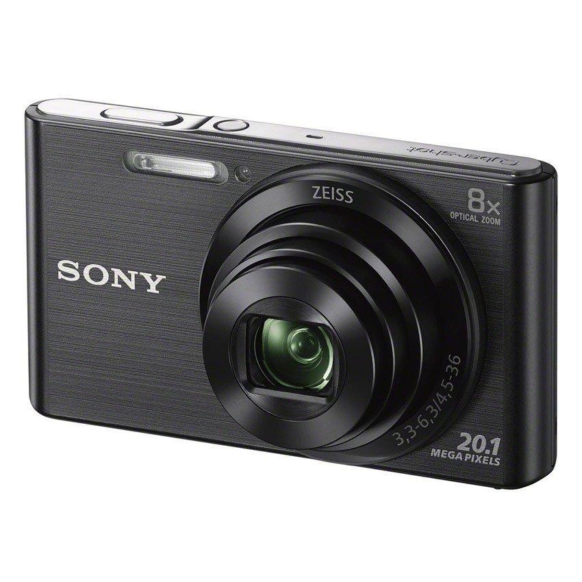 Máy ảnh KTS Sony Cyber-shot W DSC-W830 20.1MP và zoom quang 8x (Đen)