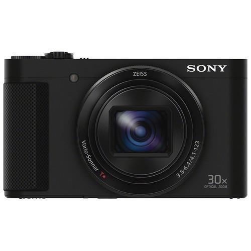 Máy ảnh KTS Sony DSC-HX90V 18MP và zoom quang 30x (Đen)